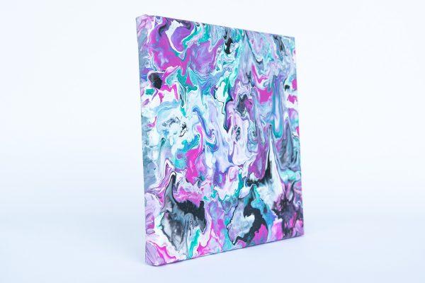 Abstract_kartina_pink_green_Diana_Strumin_20x20cm_2