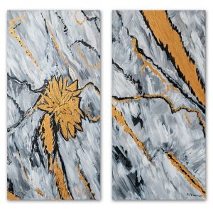 Abstraktna_kartina-Zlatna_dyh-na-zlato-abstraktna-60x60cm